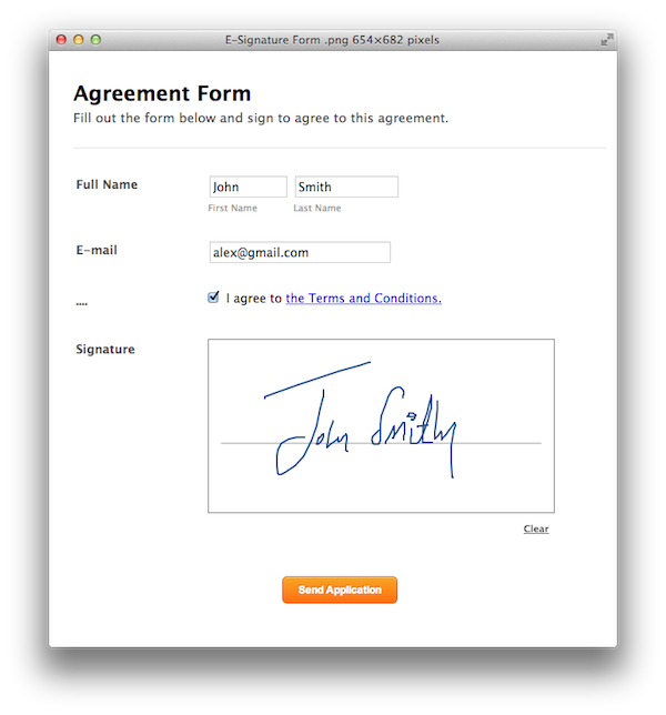 What Kinds of Forms may need E-signatures?